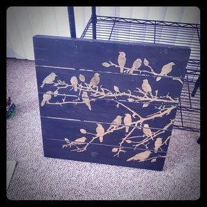 Other - Painted wood, black and gold